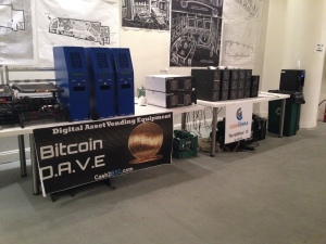 Bitcoin Center Table