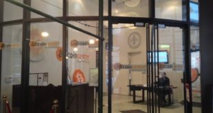 Bitcoin Center Entrance