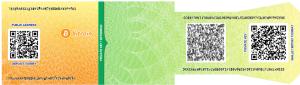 paper wallet qeschenkidee
