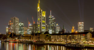 bundesbank frankfurt skyline