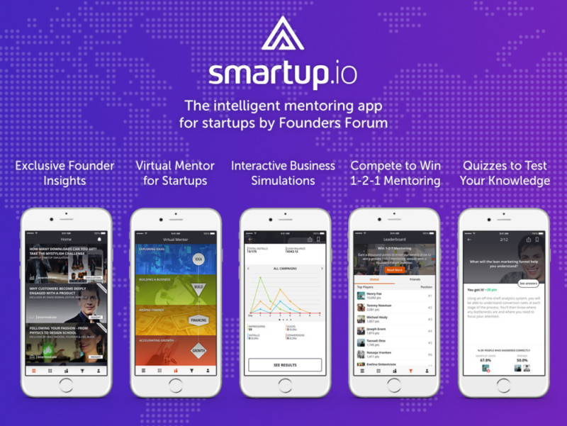 smartup app features