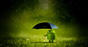 android app bug - rain