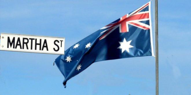 australische fahne - Bitcoin als reguläre Währung