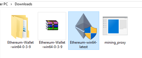Ethereum win64 latest ethminer