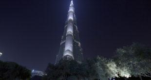 Bitcoin an der Spitze - Burj Khalifa