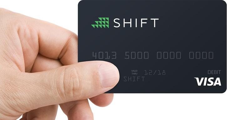 shift bitcoin karte