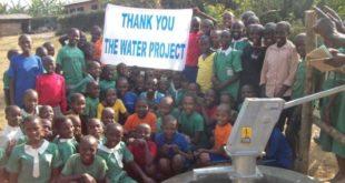 The Water Project erhält großzügige Spende